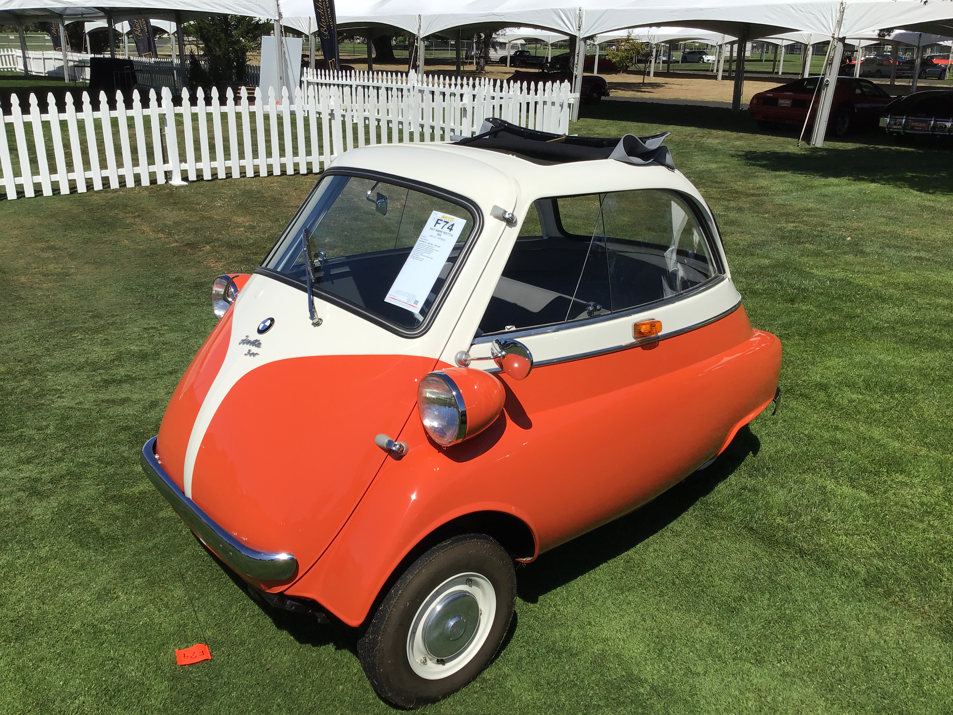 1957 BMW Isetta 300 Values | Hagerty Valuation Tool®